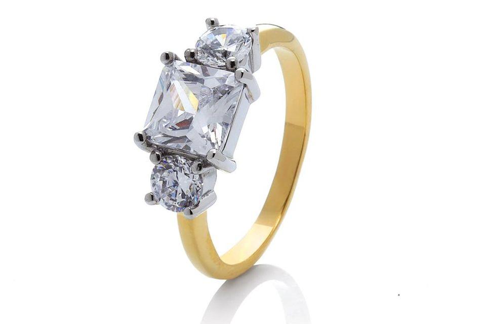 Meghans Verlobungsring zum Nachkaufen in Gold