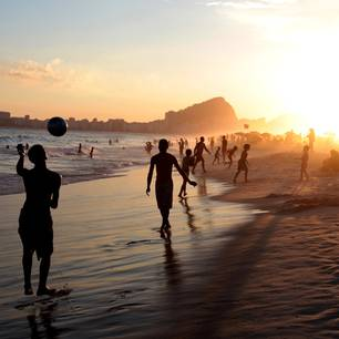 Die beliebtesten Strände: Copacabana Beach, Rio de Janeiro
