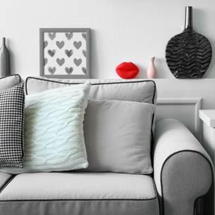 Wie finde ich das richtige Sofa? Graues Sofa
