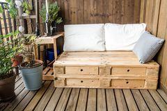 Grünes Design: Nachhaltige Möbel – Paletten
