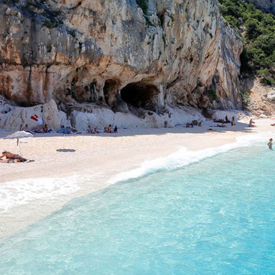 Sanddiebstahl ist ein schweres Verbrechen auf Sardinien