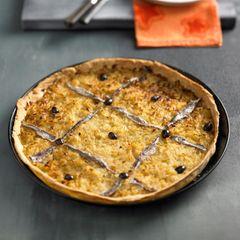Pissaladière - Französischer Zwiebelkuchen