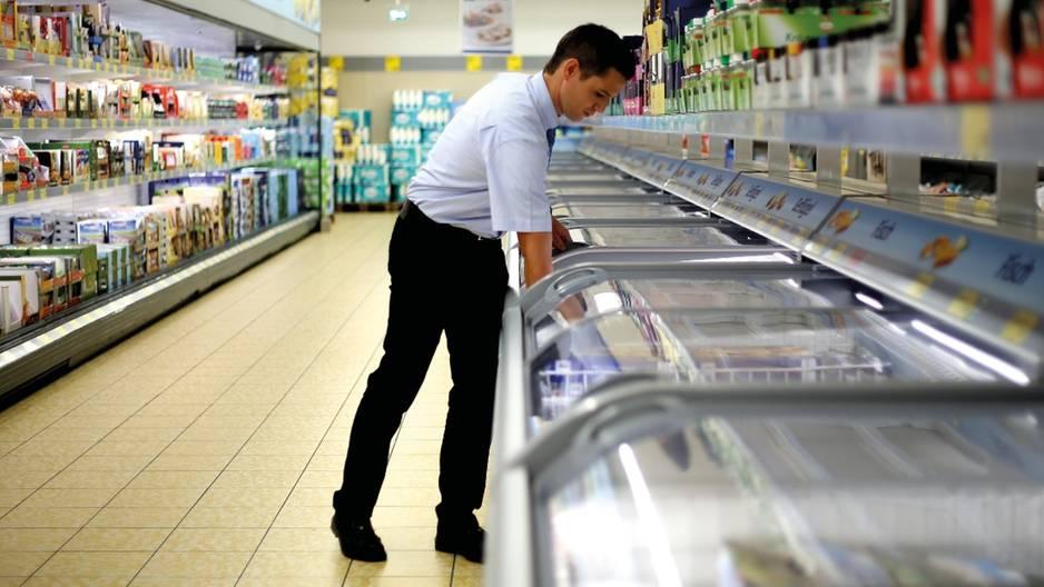 Nur bei Aldi in Großbritannien im Gefrierfach: Ice Popsicles