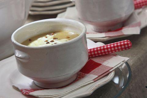 Kartoffel-Maronen-Suppe
