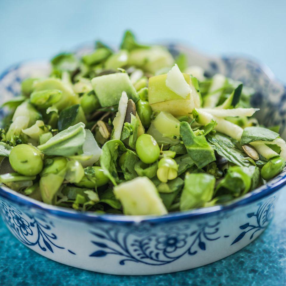 Grüne-Erbsen-Minz-Salat