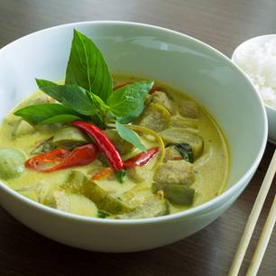Grünes Thai-Curry
