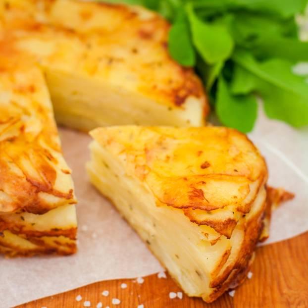 Kartoffel-Knoblauch-Tarte