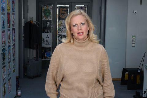 Barbara über Rucksack