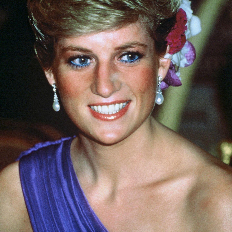 Diana liebte ihren blauen Eyeliner