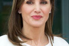 Königin Letizia von Spanien achtet auf ihre Haare