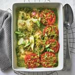 Zander-Tomaten-Auflauf