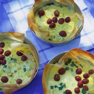 Oliven-Zwiebelkuchen