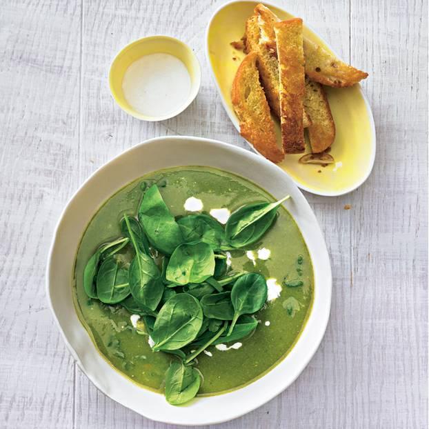Grüne Gemüsesuppe