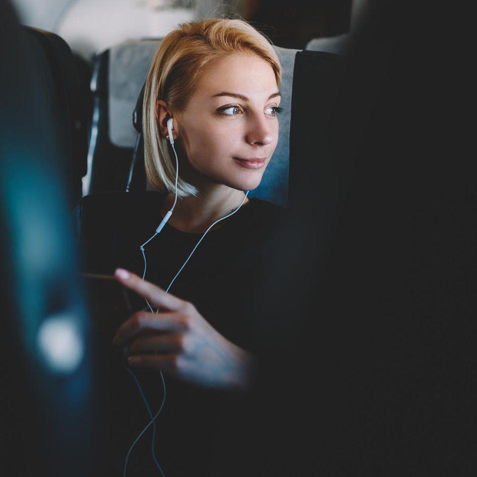 Mehr Platz im Flugzeug mit geheimem Knopf