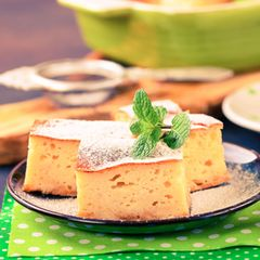 Quarkkuchen ohne Boden