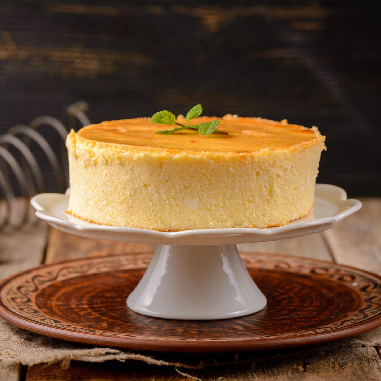 Und boden käsekuchen ohne mit vanillepudding grieß Käsekuchen ohne