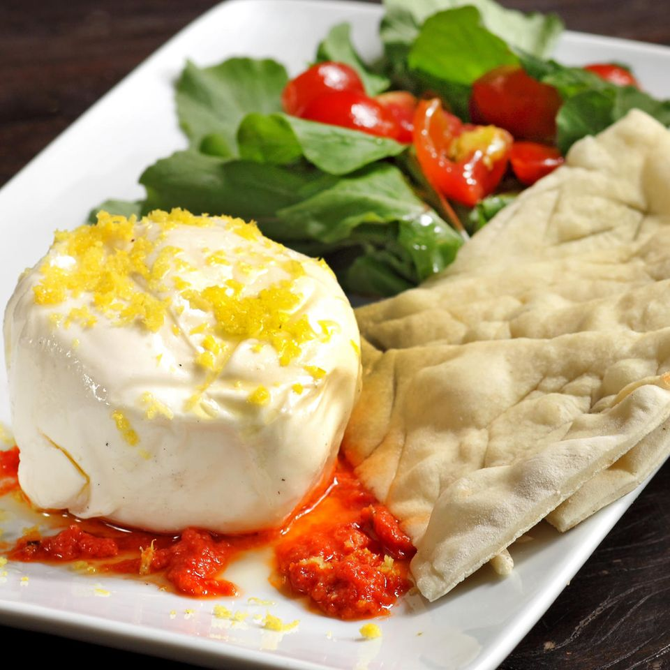 Salata Burrata Spinata