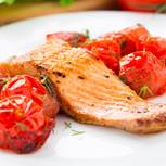 Seelachs in Tomaten