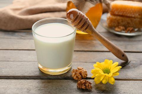 Whiskey-Honig-Milch