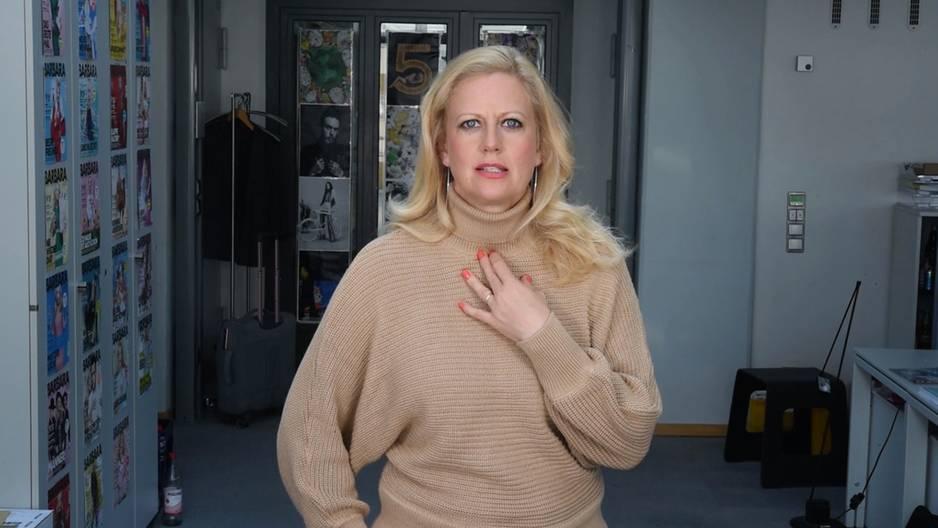 Barbara über Eistee