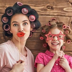 Glückwunsch, Mädchen-Mamas! ihr seid auch noch schöner als die anderen