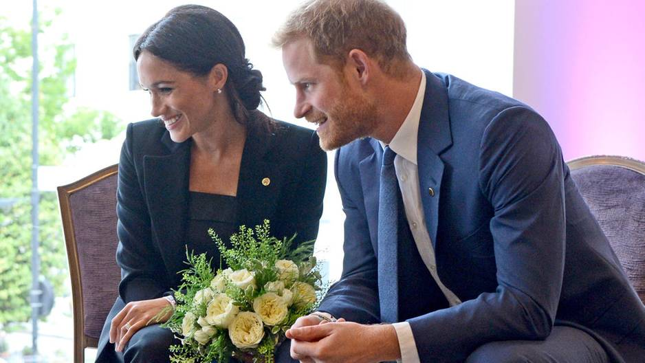 Meghan Markle und Prinz Harry bei den WellChild Awards