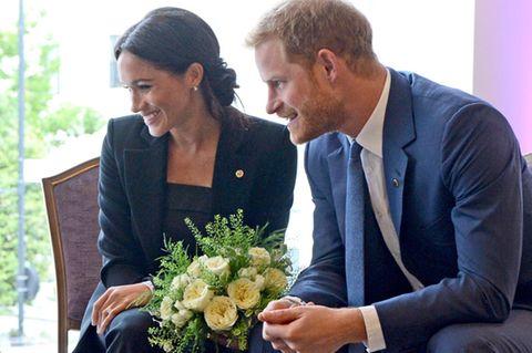 Meghan Markle und Prinz Harry bei den WellChild Awards