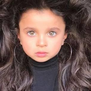 Das Kindermodel Mia Aflalo