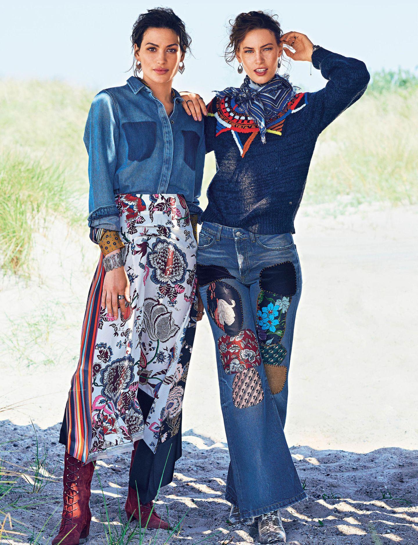 Frauen im Western-Style