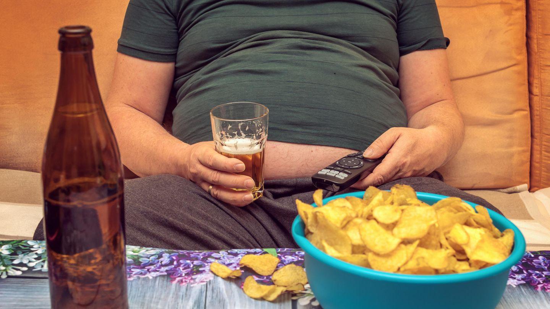 Diätplan für einen dicken Mann