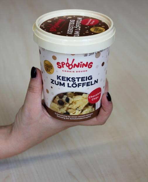 So Einfach Wird Spooning Cookie Dough Zubereitet Brigittede