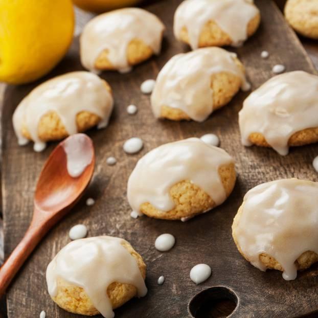 Zitronenplätzchen