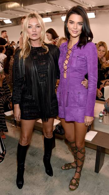 New York Fashion Week: Kate Moss und Kendall Jenner