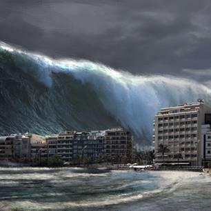 Tsunami vor den Küsten Europas