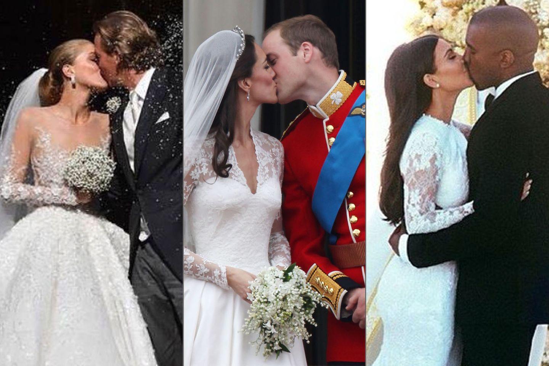 Kate Middleton, Kim Kardashian und Victoria Swarovski