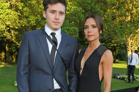 Brooklyn Beckham: Brooklyn mit Mutter Victoria
