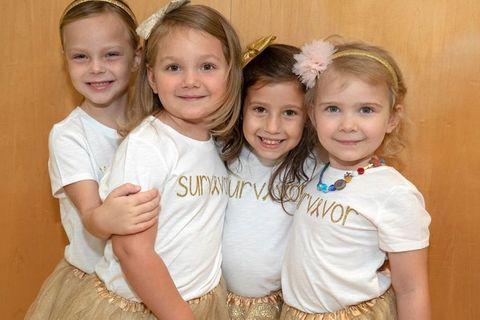Diese Mädchen sind Kämpferinnen: Chloe, Lauren, McKinley und Avalynn