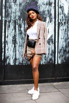 London Fashion Week: Streetstyle Karomuster