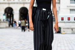 London Fashion Week: Streetstyle All black