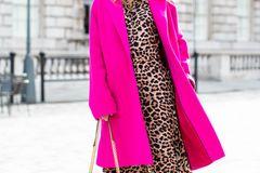London Fashion Week: Streetstyle Animal-Print
