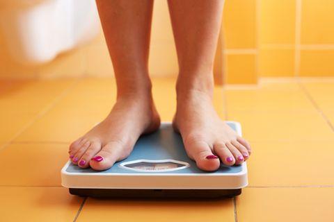 Creff-Formel: Frau wiegt sich