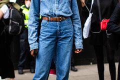 London Fashion Week: Streetstyle Denim