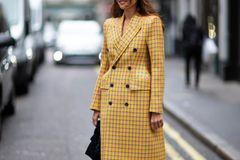 London Fashion Week: Streetstyle Kitten-Heel-Absätze