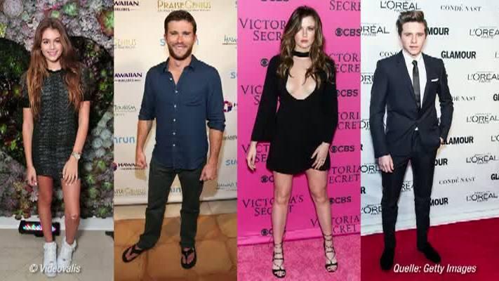 Video Die Model-Kids der Stars Beckham, Baldwin & Co