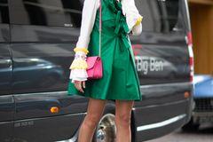 London Fashion Week: Streetstyle knallige Farben