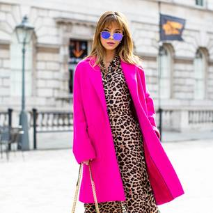 London Fashion Week: Streetstyle Animal-Print