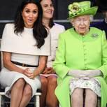 Meghan Markle und die Queen bei einer Veranstaltung