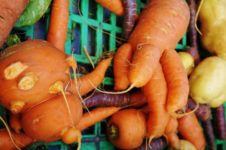 Hässliches Gemüse