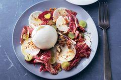 Radicchio-Salat mit Burrata
