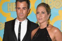 Justin Theroux und Jennifer Aniston auf dem Roten Teppich